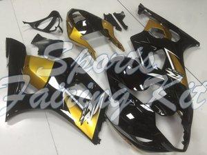 Fairing für GSXR 1000 2003 - 2004 K3 Black Gold Karosserie GSXR 1000 2003 Karosserie für Suzuki GSXR1000 04