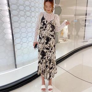 La conception des femmes Jarretelle East Gate style coréen 2020 gilet jupe écharpe gilet jupe automne et de nouveaux vêtements pour femmes d'hiver 0303128W 31LuA 31LuA