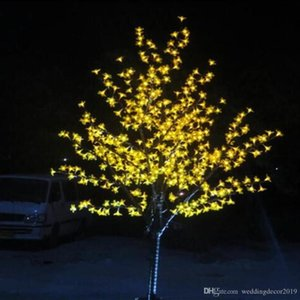 Led Cherry Blossom 1152LEDs Tree Light Night Lights Table Lamp 2m Black Branches Lighting Christmas Party Wedding LED Lights