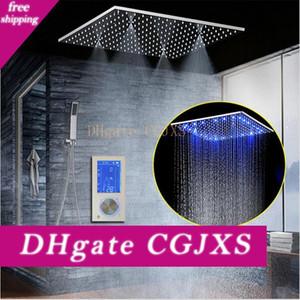 Angeführt Intelligent Digital Display Regen-Dusche-Satz installiert Wand 20 Quot; Spa Mist Regen Thermostat-Touch-Panel-Mixer