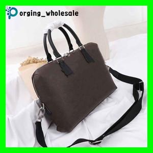 портфель мужчин ноутбук сумка компьютер сумка мужская сумка Дизайнер Крест тела Кожаные сумки Портфель для ноутбука Сумки плеча Классический.