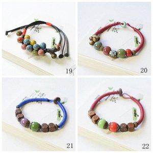 Designer Perles Céramique Bracelet à breloques Creative Handworkzstyle couple coréen Bracelet ornement Bijoux Charm Bracelet Homme 02 GfGE #