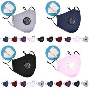 Bolsa individual de 3-12 años Diseñador Printed la máscara de Negro Rosa Azul Gris Cara Boca Er reutilizable lavable Protección Infantil # 348 # 154 # 940