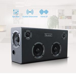 IBASS GaGa Bluetooth Speaker Altoparlante di legno Car Esterni Casa 6-mobile TV Computer Audio Telefono cellulare supporto coassiale AUX USB