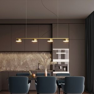 Brass chandelier lighting for restaurant hotel dining room  American pendant lamps high-end copper creative chandeliers lights