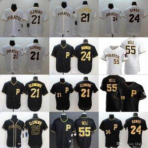 New Pittsburgh 2020 Chris Archer Josh Bell Roberto Clemente Männer Frauen Kinder Pirates Baseball Jersey