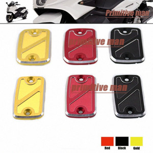 Wholesale- For Gilera GP 800 GP800 2007 Motorcycle Front Brake Clutch Master Cylinder Fluid Reservoir Cover Cap 3 Colors ohnk#