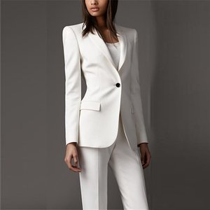 lady white Women Spring Suits Adapt To Business Women Suit Business Suits Formal Female Work Wear Summer 2 Ask for Female