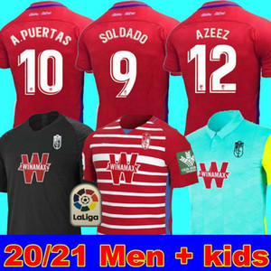 الرجال + الاطفال 2020 2021 غرناطة لكرة القدم بالقميص 19 20 21 غرناطة CF المنزل الثالثة بعيدا سولدادو هيريرا أنتونيو بويرتا قمصان كرة القدم