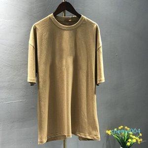 Les nouveaux hommes T-shirt célèbre coton de l'UE Taille longue homme femme tshirt homme doux tees VINTAGE tops t-shirt à manches courtes M-2XL C04