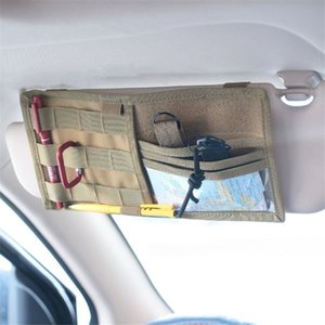 New Arrival Sunshade Sun Automobile Interior Phone Auto Multi Accessories CD Function Car Visor Holder Cover Hanging Bag Dielc