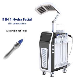 Hydra Peel & Hydra Facial Skin Care BIO Microcurrent ultrasound face deep cleaning hydra facial oxygen jet peel Beauty Machine