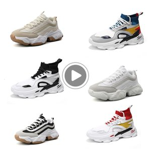 Discount men running Fashion sock shoes Platform Dad Chaussures mens trainers Outdoor Athletic Sport Sneakers vintage 39-44 Style 5 NK