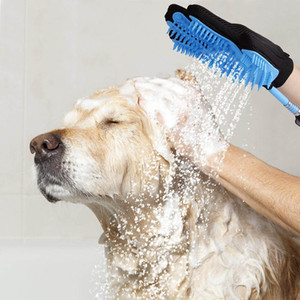 Pet Dog Bathing Tool Washing Glove Shower Kit Adjustable Bath Glove Clean Accessories Pets Products Cleaning Tools @LS