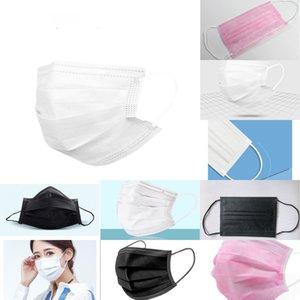 Tejido no 87u1 de 3 capas desechables Earloop de la máscara del partido Activated Carbon protectora de polvo Fa K YOR1