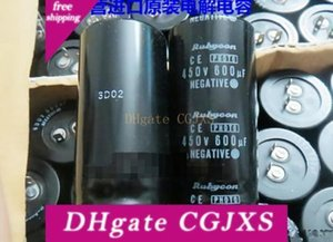 ESR Rubycon 450v 600uf Photo Flash Capacitor 30 * 60 milímetros Top Qualidade