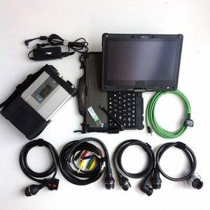 Диагностический инструмент MB Star C5 SD Connect Plus Ноутбук Getac Ssd Vediamo DTS Программное обеспечение для Mb Star C5 Поддержка CarsTrucks Диагностика Automoti DLCL #