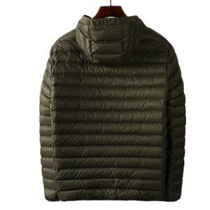 CP topstoney ПИРАТСКОГО COMPANY 2020konng gonng Осень и зима нового тренда куртка модный бренд с капюшоном пуховика легкой белой уткой вниз