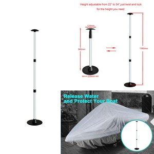 Marine Boat Cover support Pole, ABS Aluminium PVC à 3 étages Extension