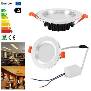 Waterproof LED Downlight Dimmable 1W Waterproof Warm White Cold White Recessed LED Lamp Spot Light 85-265V