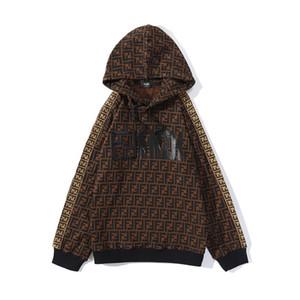 Lettera nuovo Stampa con cappuccio Felpa Autunno Inverno Fleece Hoodie streetwear uomo amici delle donne con cappuccio a maniche lunghe Pullover