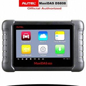 Autel MaxiDAS DS808 OBD2 Scanner Diagnostic Tool Portachiavi Programmazione Strumento Codice ECU Lettore di codice automobilistico Same As MS906 PK DS708 JWDo #