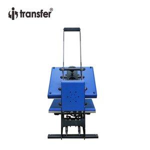 """i-transferi Tanıtım Sublime Isı Presi Güç Max Kapaklı Tişört Düz Isı Transfer Baskı Makinesi 15 """"x15"""""""