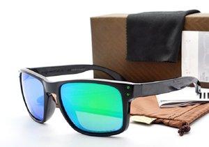 Мужские солнцезащитные очки, поляризованные очки Дизайнер Холбрук Модные солнцезащитные очки для мужчин Открытый ветрозащитный очки OK9102 с коробкой B006