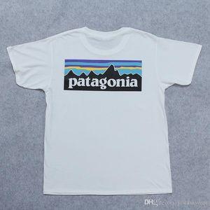 Summer Lovers manches courtes T-shirts marque de mode Streetwear blanc T-PATAGONIA Hommes Femmes Imprimer Hauts Vêtements Skateboard H6S5