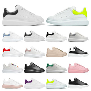 2020 Mens sneakers Platform Reflective black leather grey suede casual shoes women bule purple yellow fashion comfortable flat outdoor