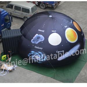 Misura 360 ° Cinema 7m Portable Tenda Proiezione stampa completa gonfiabile Planetario cupola di alta qualità L'Universo Dome con Air Blower