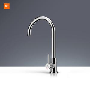 Xiaomi Mijia youpin yunmi en acier inoxydable robinet sans plomb mode de vie sain eau 304 en acier inoxydable chaud et froid double contrôle