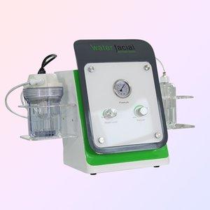 DHL trasporto veloce di cristallo microdermoabrasione Diamond Peeling macchina / portatile Hydro Dispositivo viso per pelli Professional Care