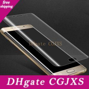 Soft Pet Clear Film Guard 3d Изогнутые полное покрытие экрана протектор для Samsung Galaxy Note 10 Примечание 10 Pro S10 S10 Plus S10e 1500pcs / Lot