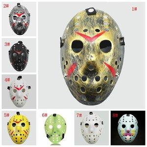 Maskeli Maskeler Jason Voorhees 13. Korku Filmi Hokey Korkunç Cadılar Bayramı Kostüm Cosplay Plastik Parti Maskesi DHF836 Maske Cuma Maske