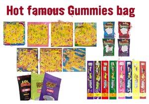 Emballage de Dank Corde Comestibles Lol 500mg bonbons chaud Vider 400mg Medicated gélifiés Nerds Hashtag Vente Gummy Sac xhhair EjTPD