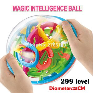 299 level 23cm Biger 3D Magic Maze Ball perplexus magical intellect ball educational toys Marble Puzzle Game IQ Balance toys Y200317