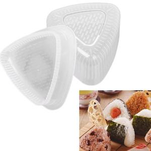 2PCS Set DIY Sushi Mold Onigiri Rice Ball Food Press Triangular Sushi Maker Mold Sushi Kit Japanese Kitchen Bento Tools BH3554 DBC