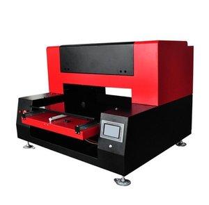 UV Flatbed Yazıcı Tekstil Makine A36090 Renkli Baskı Makinesi Dijital Mürekkep Püskürtmeli Kabartmalı Cep Telefonu Shell Giyim T -Shirt
