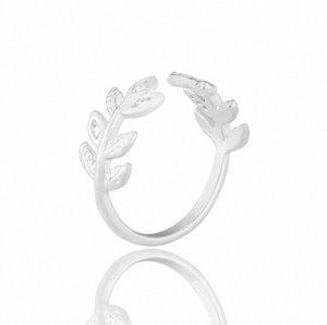 Flor deixa de cristal Design Anel Mulheres Moda dedo anelar jóias dom AADUOXJZ eBf7 #