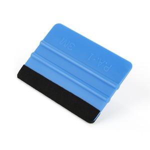 Mais novas ferramentas rodo Decalques 3M Felt decalques Borda etiqueta pa-1 folha de vinil Rodo Car Enrole Aplicador carro Ferramentas de vinil ferramentas embalar filme