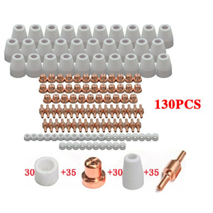 PT31 LG40 Plasma Cutter Torch Electrode Tip Nozzle Consumable Accessory 130pcs CUT-40 50 CT312