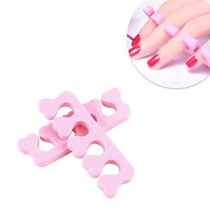 Finger Splitter Toes Nail Art Finger separatori flessibile Spacer Dita di sedimento spugna morbida del gel UV Strumenti Polish Manicure Pedicure