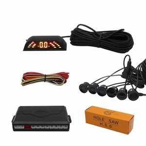 New driver Car parking sonsers with LED display 6 pcs sonsers for front and backup detect distance from obstacle w57S#