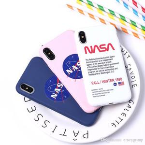 Agence spatiale NASA Luxury Designer antichocs silicone souple Téléphone cas pour l'iPhone 11 pro max X 6 6S 7 8 Plus iPhone XS Max XR