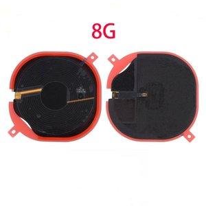 Cgjxs10pcs Pour Iphone 8 Plus X Chip Nfc Panneau chargeur sans fil de charge Coil Sticker Flex Ruban Câble
