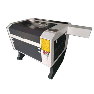 ZD-4060 60W 400x600mm RUIDA Conttroller قطع نقش ليزر CO2 حفارة آلة قطع الخشب الرقائقي