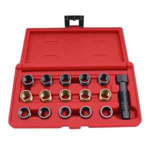 M14 x 1.25mm Ignition Plug Thread Repair Tool Kit M16 Tap Portable Tap tool for Car repair set