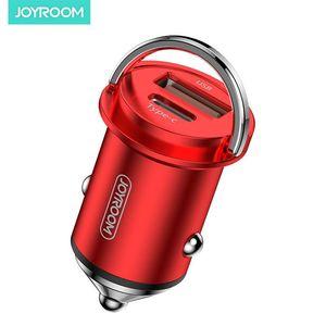 Cgjxs Joyroom qc4 0,0 Car Charger Jr -C 11 45w 5a Schnellladeadapter KFZ-Ladegerät für Iphone 11 Samsung S20