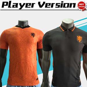 2020 لاعب النسخة هولندا لكرة القدم جيرسي # 4 فيرجيل # المنتخب الوطني الزي 10 ممفيس 20/21 الرجال هولندا لكرة القدم